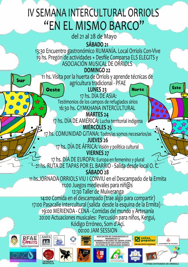 Cartel semana intercultural